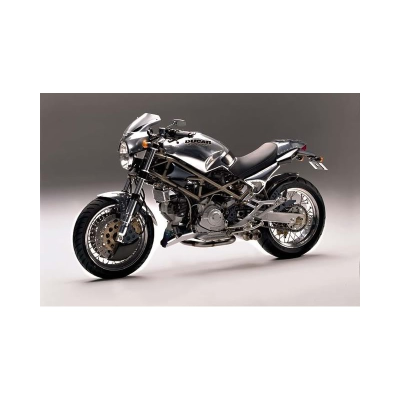 Alpina Raggi Spokes Carbon Wheel Ducati Monster Classic - Alpina motorcycle wheels