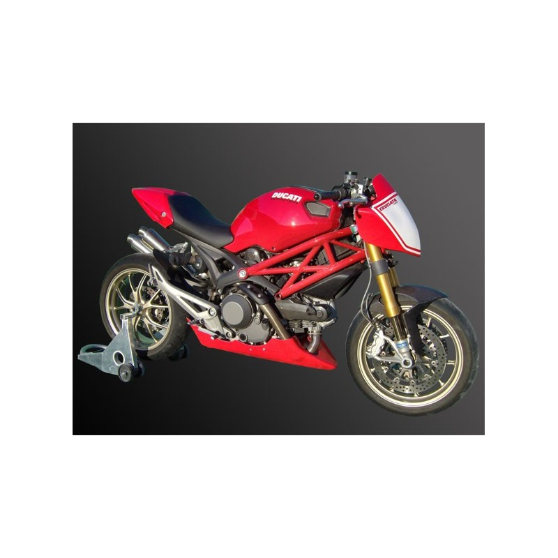 Confronted Circuit Ducati Monster 696 And 796 1100