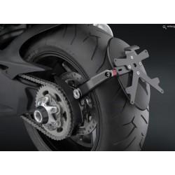 "Soport de matrícula Rizoma ""Side arm"" Ducati Diavel"