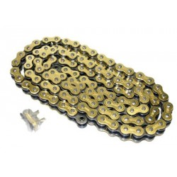 Cadena DID 520 reforzada oro