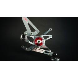 Estriberas regulables AEM Factory para Ducati Panigale