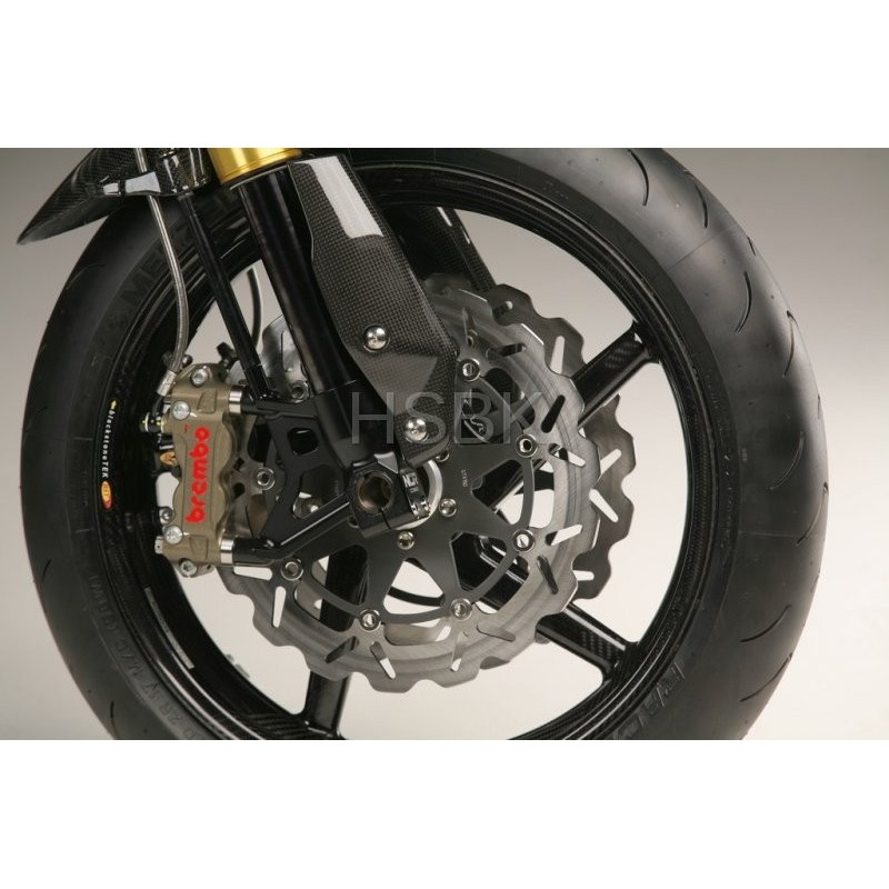 triers de frein racing 100 mm ncr factory et brembo pour ducati. Black Bedroom Furniture Sets. Home Design Ideas