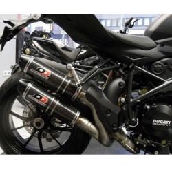 Escapes homologados carbono para Ducati Streetfighter