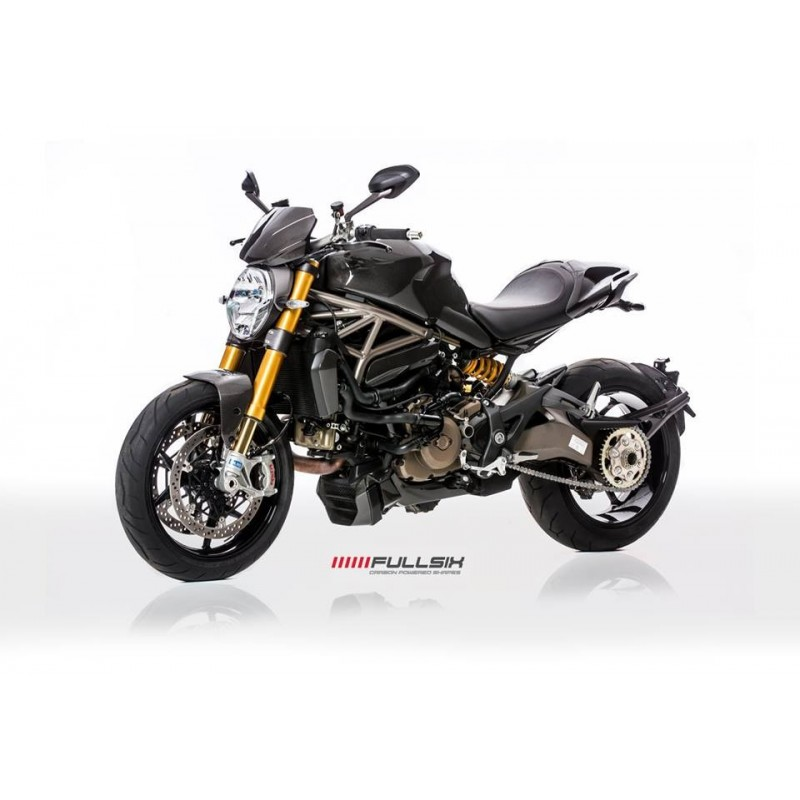 capot selle en carbone fullsix pour ducati monster 821 1200. Black Bedroom Furniture Sets. Home Design Ideas