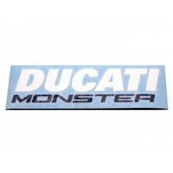 Kit de pegatinas para depósito y colín - Ducati Monster 696/796