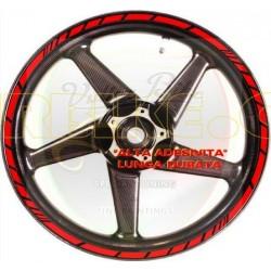 Kit de pegatinas para llantas ruedas Ducati.