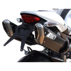 Escape penta inox-aluminio Zard Racing - Ducati Monster