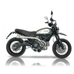 Escape completo QD MaXcone brillo para Ducati Scrambler