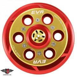 Plato de empuje bicolor EVR autoventilado para Ducati.