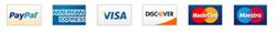 logos de distintas formas de pago
