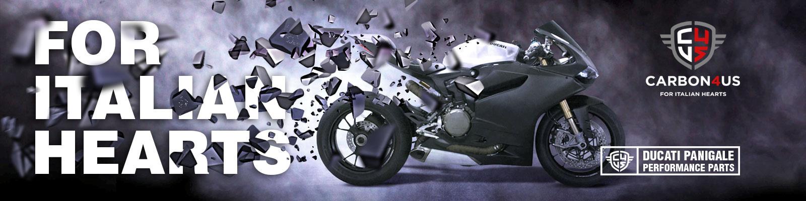 Accesorios para motos Ducati